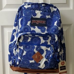 Jansport NWT Large Lace Bubbles Backpack